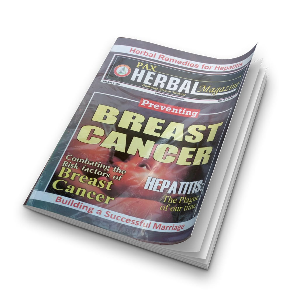 Paxherbal magazine (Breast Cancer) product image
